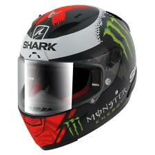 Shark Race-r Pro Replica Lorenzo Monster Mat 2017 Black / Red / White , Cascos
