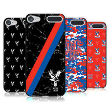 CUSTOMISED CRYSTAL PALACE FC 2017/18 BLACK SOFT GEL CASE FOR APPLE iPOD TOUCH
