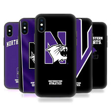 NORTHWESTERN UNIVERSITY NU HYBRID CLEAR CASE FOR iPHONE HUAWEI SAMSUNG PHONES