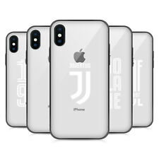 JUVENTUS FC VARIOUS DESIGNS HYBRID CLEAR CASE FOR iPHONE HUAWEI SAMSUNG PHONES