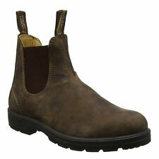 Blundstone 585 Rustic Brown Unisex Leather Chelsea Ankle Boots