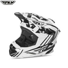 Fly racing Bicicleta Default Juvenil MTB Downhill Bmx Casco de CARA ENTERA -