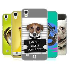 HEAD CASE DESIGNS FUNNY ANIMALS HARD BACK CASE FOR LG PHONES 2