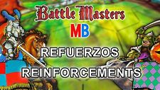 Multi-Anuncio Refuerzos de Battle Masters de MB / BattleMasters Reinforcements