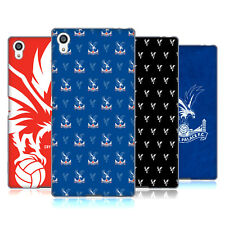 OFFICIAL CRYSTAL PALACE FC 2017/18 CREST AND PATTERNS GEL CASE FOR SONY PHONES 2
