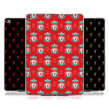LIVERPOOL FC LFC 2017/18 CREST & LIVER BIRD GEL CASE FOR APPLE SAMSUNG TABLETS