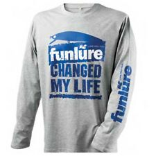 Hearty Rise T-shirt Funlure Grey / Blue , Magliette Hearty rise , nautica