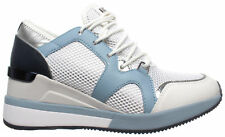 MICHAEL KORS Zapatos Mujer Sneakers Liv Trainer Metall Pu 43T8SCFS1M Opt/Pl Blue