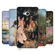 OFFICIAL MASTERS COLLECTION PAINTINGS 1 SOFT GEL CASE FOR MICROSOFT PHONES