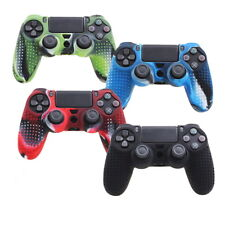 Camouflage Silicone Rubber Skin Grip Cover Case for PlayStation 4 PS4^Controller