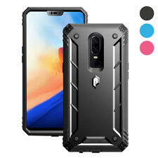Poetic OnePlus 6 Case [Revolution] Heavy Duty Case With Tempered Glass 3 Color