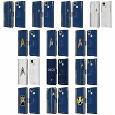 OFFICIAL STAR TREK DISCOVERY UNIFORMS LEATHER BOOK CASE FOR ASUS ZENFONE PHONES