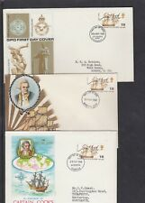 GB 1968 Capt Cook Nelson FDC