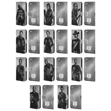 AMC THE WALKING DEAD DOUBLE EXPOSURE LEATHER BOOK CASE FOR APPLE iPOD TOUCH MP3