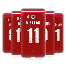 LIVERPOOL FC 2018/19 GIOCATORI HOME KIT GRUPPO 1 CASE IN GEL PER HTC TELEFONI 1