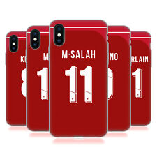 LIVERPOOL FC 2018/19 PLAYERS HOME KIT 1 CASE IN GEL PER APPLE iPHONE TELEFONI