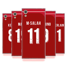 LIVERPOOL FC 2018/19 GIOCATORI HOME KIT GRUPPO 1 CASE IN GEL PER SONY TELEFONI 1