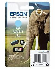 Epson Singlepack Light Cyan 24 Claria Photo HD Ink 5.1ml Ciano chiaro 360pagine