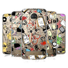 HEAD CASE DESIGNS MESTIERI DOODLE COVER RETRO RIGIDA PER MOTOROLA TELEFONI 1