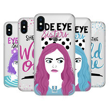 HEAD CASE DESIGNS SORELLE SFACCIATE COVER RETRO RIGIDA PER APPLE iPHONE TELEFONI