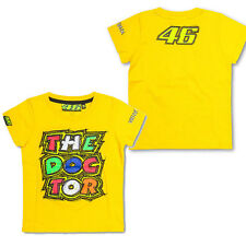 VALENTINO ROSSI VR 46 KIDS BOYS GIRLS THE DOCTOR TSHIRT TEE TOP MOTOGP