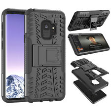 For Samsung Galaxy S9 Plus / S9 Shockproof Kickstand Drop Protection Case Cover