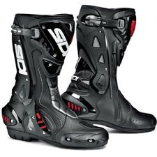 Sidi St Air Moto Protection Ventilé Biellette Sports Course Bottes Noires
