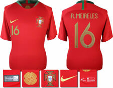 R. MEIRELES 16 - 2018 NIKE PORTUGAL HOME SHIRT SS = ADULTS