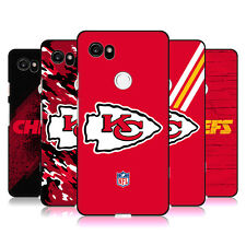 UFFICIALE NFL KANSAS CITY CHIEFS LOGO COVER IN GEL NERA PER GOOGLE TELEFONI