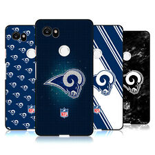 UFFICIALE NFL 2017/18 LOS ANGELES RAMS COVER IN GEL NERA PER GOOGLE TELEFONI