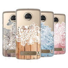 HEAD CASE DESIGNS MOTIVI ELEGANTI COVER RETRO RIGIDA PER MOTOROLA TELEFONI 1