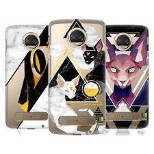 HEAD CASE DESIGNS SIFONE MARMOREO COVER RETRO RIGIDA PER MOTOROLA TELEFONI 1