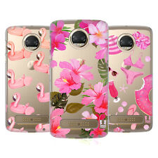 HEAD CASE DESIGNS ROSA FUCSIA COVER RETRO RIGIDA PER MOTOROLA TELEFONI 1
