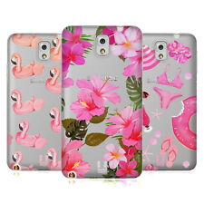 HEAD CASE DESIGNS ROSA FUCSIA COVER MORBIDA IN GEL PER SAMSUNG TELEFONI 2