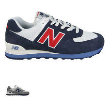 New Balance ML574 Suede Mesh Retro Low-Top Lace-Up Running Shoes Mens Trainers