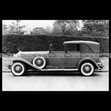 #pha.003173 Photo CADILLAC V16 452-A TRANSFORMABLE TOWN CABRIOLET 1930 Car Auto