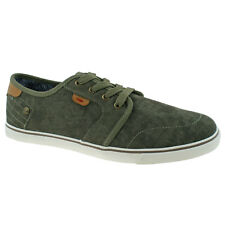 MENS WRANGLER MITOS DERBY MILITARY LACE UP CANVAS SHOES WM181000