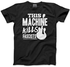 This Machine Kills Fascists - guitar Kids T-Shirt guitarist activism political