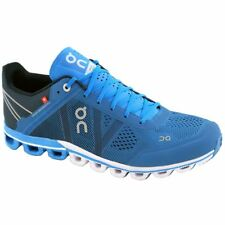 On Running Cloudflow River Navy Mens Mesh Low-top Running Trainers