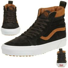 c2463468dc Vans Classic Sk8-hi MTE Winter Trainers Shoes Leather Vn0a33txuca Brown
