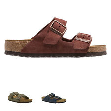 Birkenstock Arizona Suede Womens Mens Slide Unisex Sandals