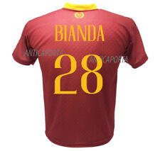 Camiseta Bianda Roma 2019 Oficial 2018 2019 Producto Oficial 28 William