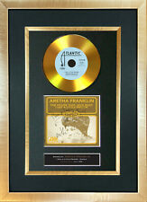 #173 GOLD DISC ARETHA FRANKLIN Little Prayer Cd Signed Autograph Mounted Repro