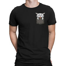 PUPPY IN MY POCKET Mens Cute Funny Dog T-Shirt Animal Pet Lover Gift Top