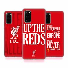 LIVERPOOL FC LFC 2017/18 KINGS OF EUROPE CASE IN GEL PER SAMSUNG TELEFONI 1