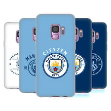 MANCHESTER CITY MAN CITY FC 2018/19 BADGE CASE IN GEL PER SAMSUNG TELEFONI 1