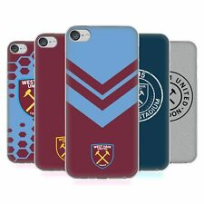 OFFICIAL WEST HAM UNITED FC 2018/19 CREST SOFT GEL CASE FOR APPLE iPOD TOUCH MP3