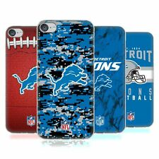 OFFICIAL NFL 2018/19 DETROIT LIONS SOFT GEL CASE FOR APPLE iPOD TOUCH MP3