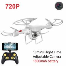Wide Selfie Drone HD Camera 2.4G Wifi FPV RC Quadcopter RTF 4CH 6AXIS Helicopter