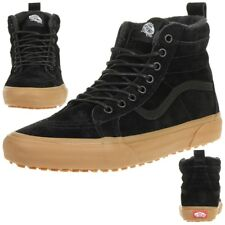 425844255cfcaf Vans Classic Sk8-hi MTE Winter Trainers Shoes Leather Vn0a33txgt7 Black
